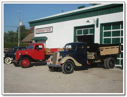 Bud Chamney truck collection