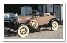 Chamney Ford rumble seat