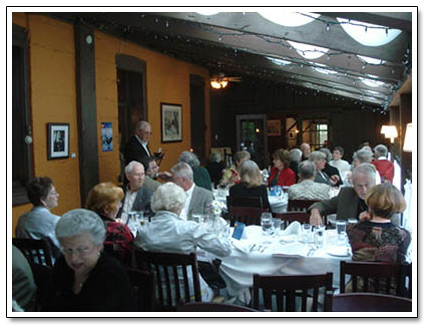 Ben Miller Inn Sun Room Seniors Dinner
